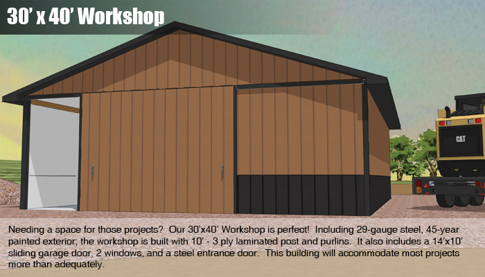 30x40 Workshop