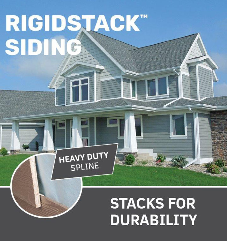 RigidStack Siding
